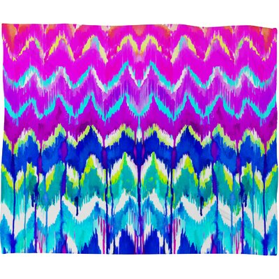 Holly Sharpe Summer Dreaming Throw Blanket Size: 80 H x 60 W