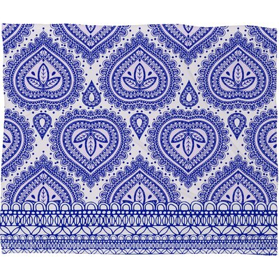 Aimee St Hill Decorative Throw Blanket Size: Large, Color: Indigo