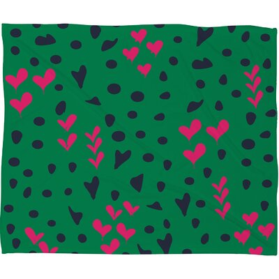 Vy La Animal Love Throw Blanket Size: Small