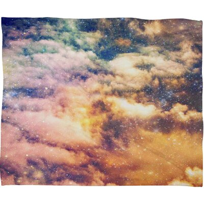 Shannon Clark Cosmic Throw Blanket Size: Large