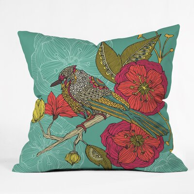 Valentina Ramos Contented Constance Throw Pillow Size: Small
