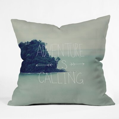 Leah Flores Adventure Island Throw Pillow Size: Medium