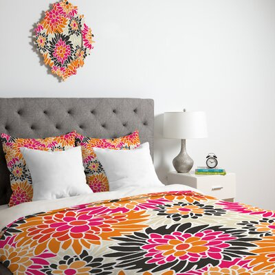 Andrea Victoria Summer Tango Floral Duvet Cover Collection