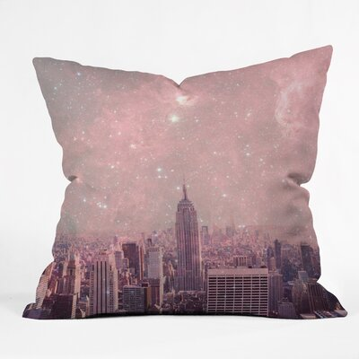 Bianca Green Throw Pillow Size: Small