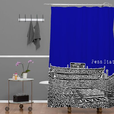 Bird Ave Penn State University Shower Curtain