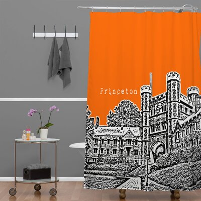 Bird Ave Princeton University Shower Curtain