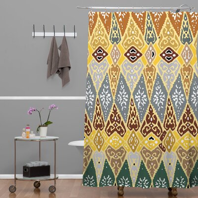 Romi Vega Diamond Tile Shower Curtain