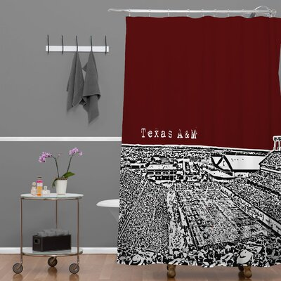 Bird AveTexas A and M Maroon Shower Curtain