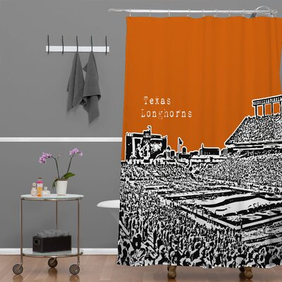 Bird Ave Texas Longhorns Shower Curtain