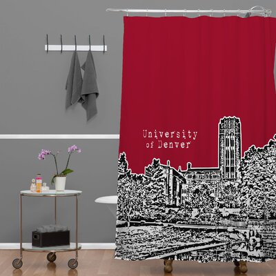 Bird Ave University of Denver Shower Curtain