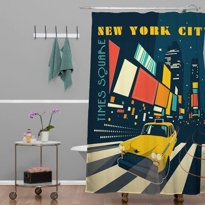 Anderson Design Group NYC Times Square Shower Curtain