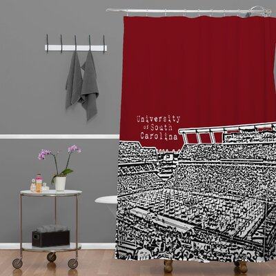 Bird Ave University of South Carolina Dark Shower Curtain