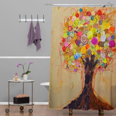 Elizabeth St Hilaire Nelson Summer Tree Shower Curtain