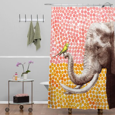 Garima Dhawan Dots New Friends 2 Shower Curtain