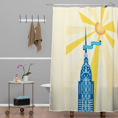 Jennifer Hill New York City Chrysler Building Shower Curtain