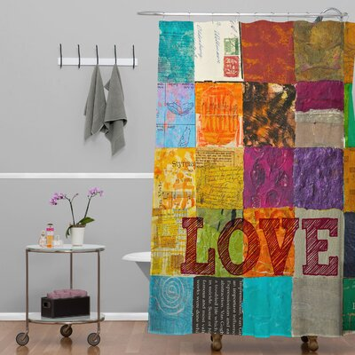 Elizabeth St Hilaire Nelson Love Shower Curtain