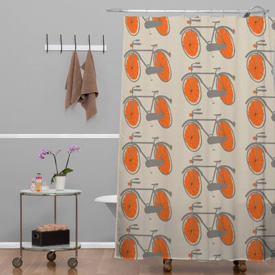 Mummysam Bicycles Shower Curtain