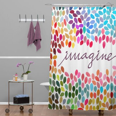Garima Dhawan Dots Imagine 1 Shower Curtain