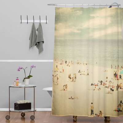 Shannon Clark Vintage Beach Shower Curtain