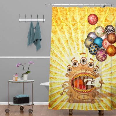 Jose Luis Guerrero Monster Shower Curtain