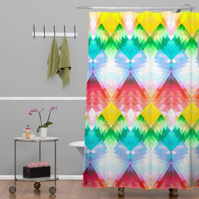 Deniz Ercelebi Crystal Rainbow Shower Curtain