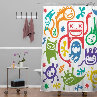 Andi Bird Misfits Shower Curtain