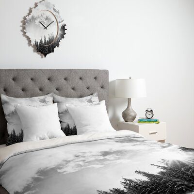 Bird Wanna Whistle White Mountain Duvet Cover Collection
