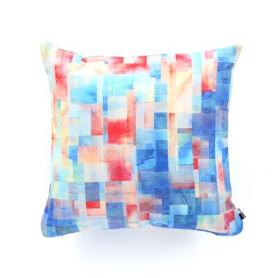 Jacqueline Maldonado Torrentremix Throw Pillow Size: 18 x 18