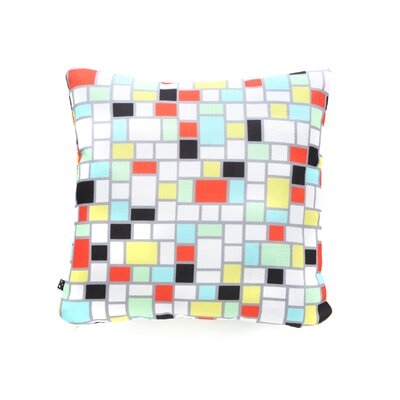 Jacqueline Maldonado Geo Throw Pillow Size: 18 H x 18 W