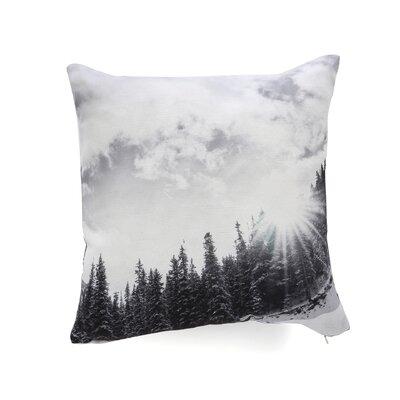 Bird Wanna Whistle Mountain Throw Pillow