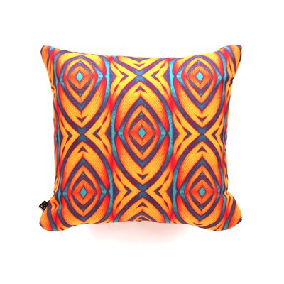 Wagner Campelo Maranta Throw Pillow Size: 16 x 16, Color: Yellow Maranta 2