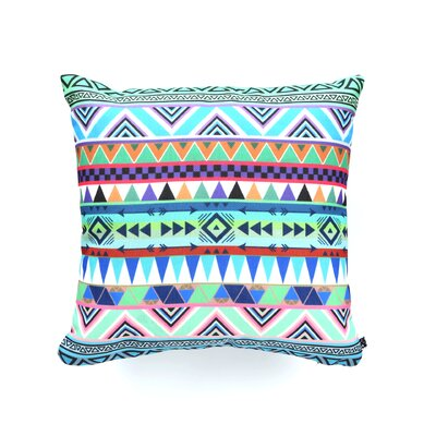 Bianca Green Esodrevo Throw Pillow Size: 20 x 20