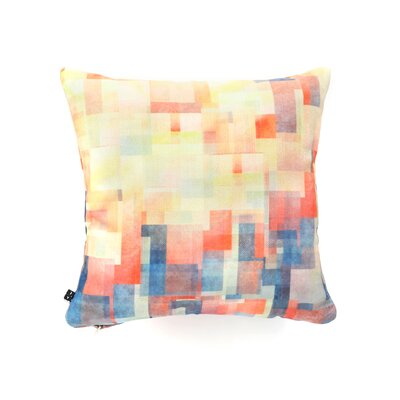 Jacqueline Maldonado Cubism Dream Throw Pillow Size: 20 x 20