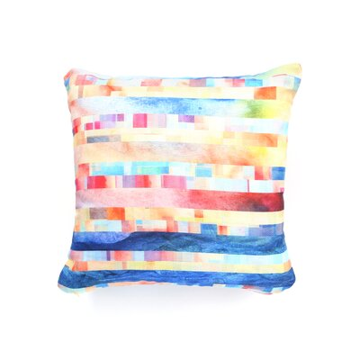 Jacqueline Maldonado Amalgama Throw Pillow Size: 18 x 18
