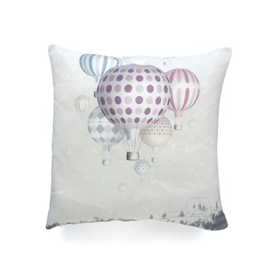 Belle13 Winter Dreamflight Throw Pillow Size: Extra Large