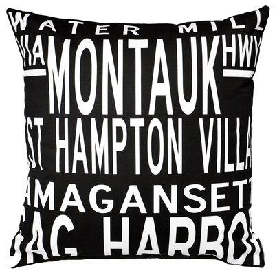 Hamptons 5 Line Throw Pillow