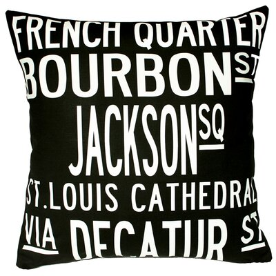 New Orleans Throw Pillow