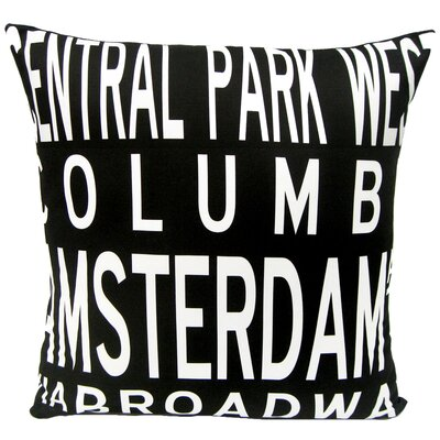 Upper West Side-NY Throw Pillow