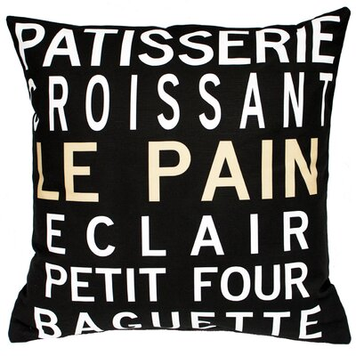 Patisserie Throw Pillow