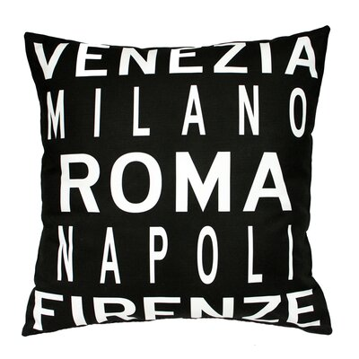 Roma Italy Throw Pillow
