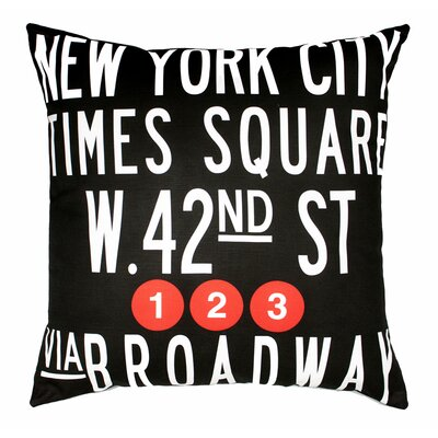 Times Throw Pillow