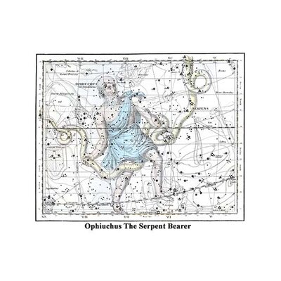 """'Ophiuchus The Serpent Bearer' by Alexander Jamieson Graphic Art Size: 24"""" H x 36"""" W 0-587-29120-6"""