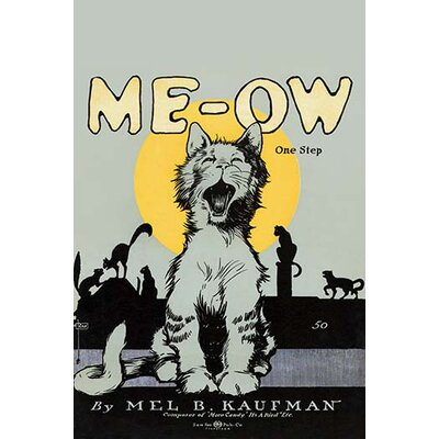 'Me-Ow One Step' by Ray Vintage Advertisement 0-587-30281-x