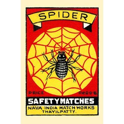 'Spider' Graphic Art 0-587-33680-3C2842