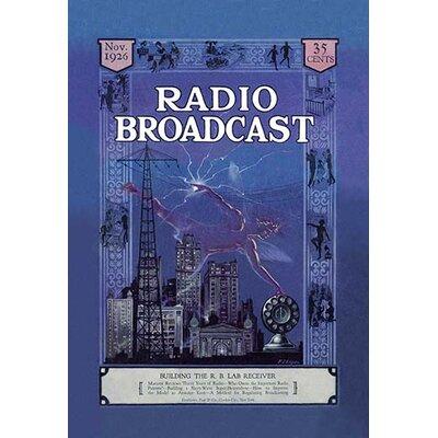 'Radio Broadcast - Building the R.B. Lab Receiver' Vintage Advertisement 0-587-02102-0