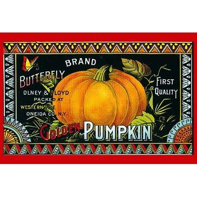 'Golden Pumpkin' Vintage Advertisement 0-587-31535-0