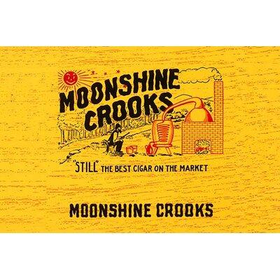 'Moonshine Crooks Cigars' Vintage Advertisement 0-587-31524-5C2842