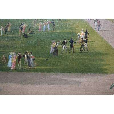 'Blind Man's Bluff at The Palace and Gardens of Versailles Detail)' by John Vanderlyn Painting Print 0-587-60285-L