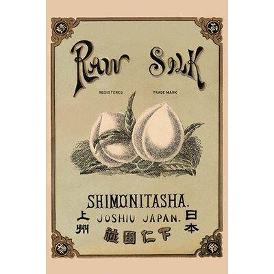 'Raw Silk Shimonitasha.Joshiu, Japan' Vintage Advertisement 0-587-27415-8