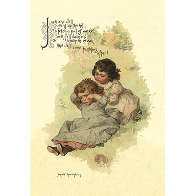 'Jack and Jill' by Walter Crane Painting Print 0-587-04828-x